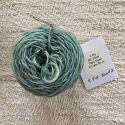 Blue - Plant Dyed 4 ply Tablet Weaving wool