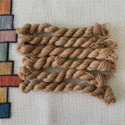 Beige - Plant Dyed Tapestry Wool
