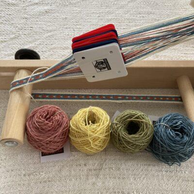 Plant Dyed Tablet Weaving Wool Yarn
