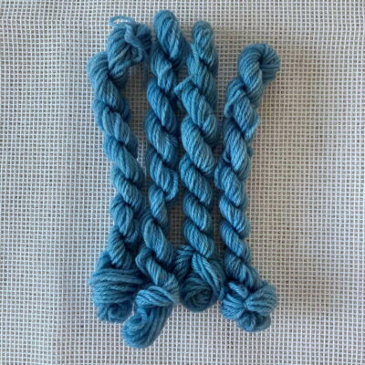 Blue - Plant Dyed Tapestry Wool