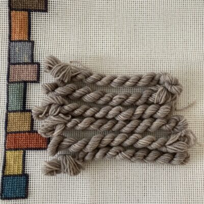 GREY - Plant Dyed Tapestry Wool