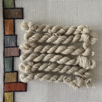 Ivory - Plant Dyed Tapestry wool