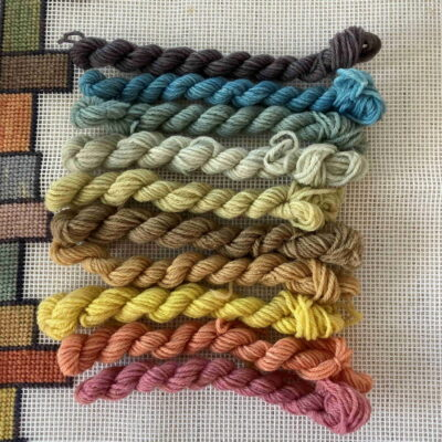 Rainbow - Plant Dyed Tapesry Wool Kit