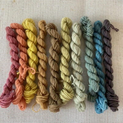 Rainbow - Plant Dyed Tapestry Wool Kit