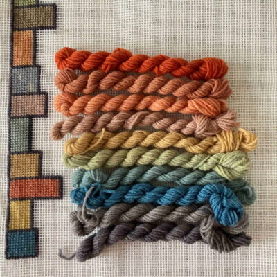 Rainbow - Plant Dyed Tapestry Kit