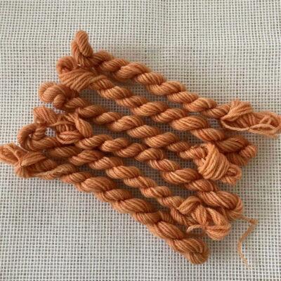 ORANGE - Plant Dyed Tapestry wool
