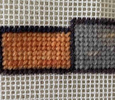 Orange Plant Dyed Tapestry wool