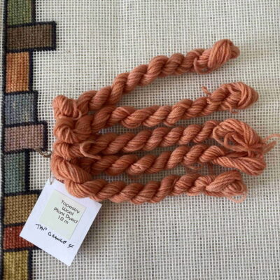 Orange - Natural Plant Dyed Tapestry Wool