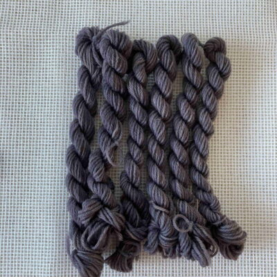 Purple - Plant Dyed Tapestry Wool