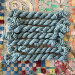 Blue Woad - Plant Dyed Tapestry wool