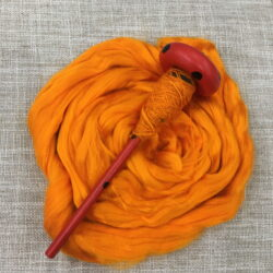 Bamboo Fibre - Orange