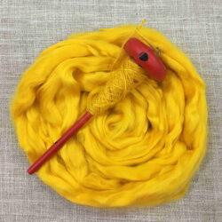Bamboo Roving - Yellow