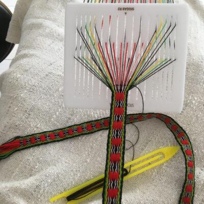 Sami Band Woven Wool Sash